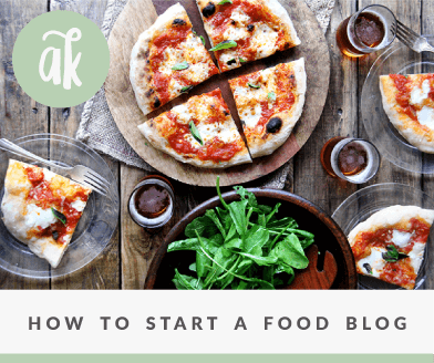 How to Start a Food Blog with Wordpress