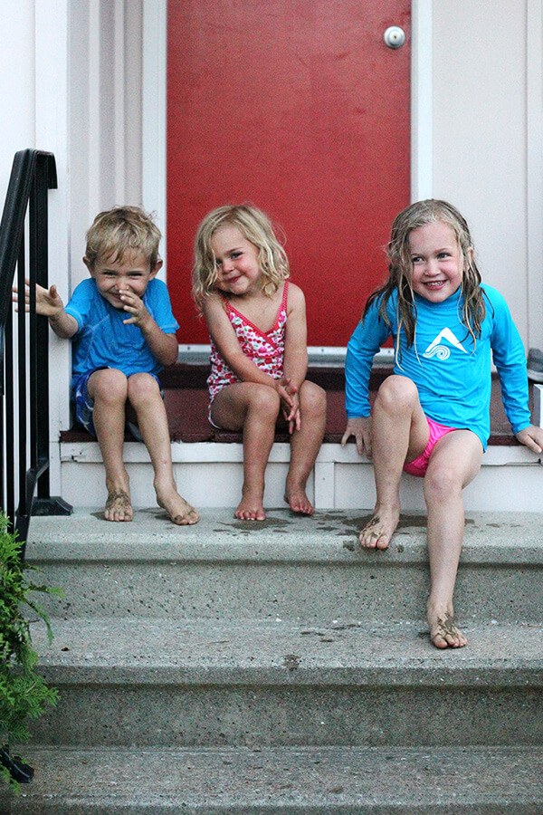 3 kiddies