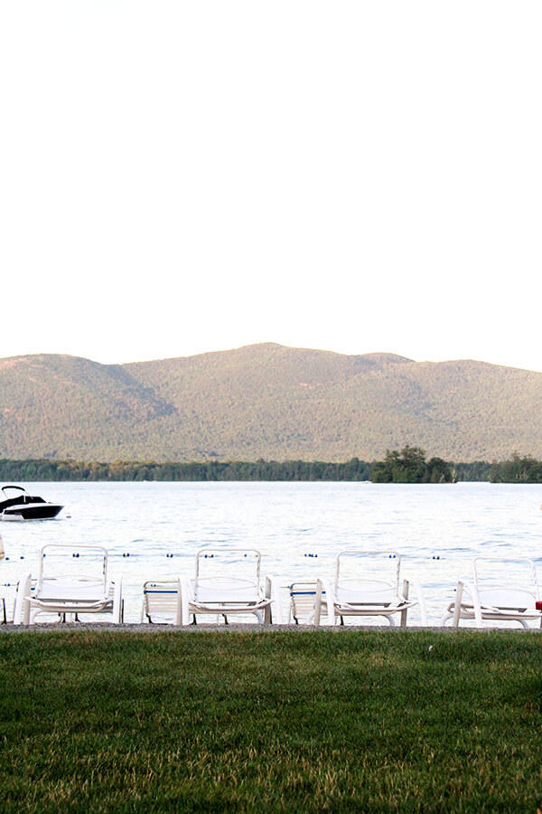 For three years we've been hearing about Lake George, about how beautiful and clear it is, about the many villages and shops and activities. Over the July Fourth week, we finally saw for ourselves. // alexandracooks.com