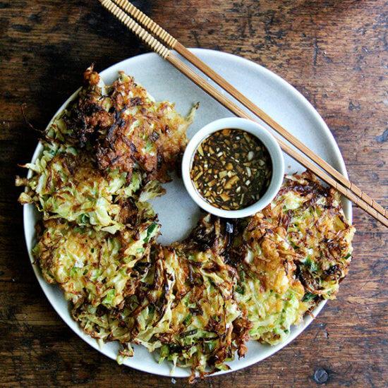Okonomiyaki: Cabbage Pancakes