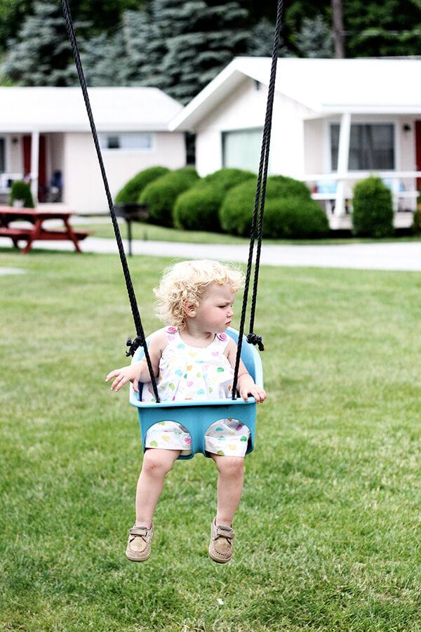 swinging tig