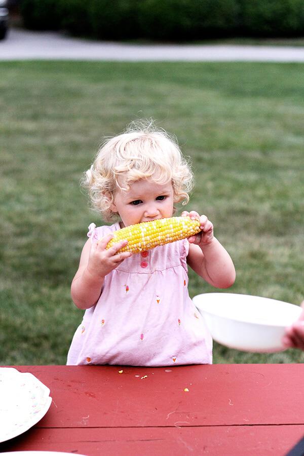 tig, corn