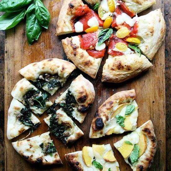Three Summer Pizzas