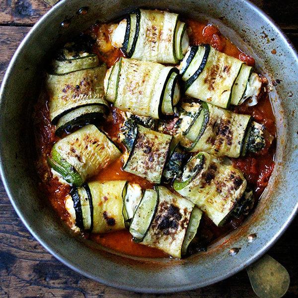 Zucchini Involtini