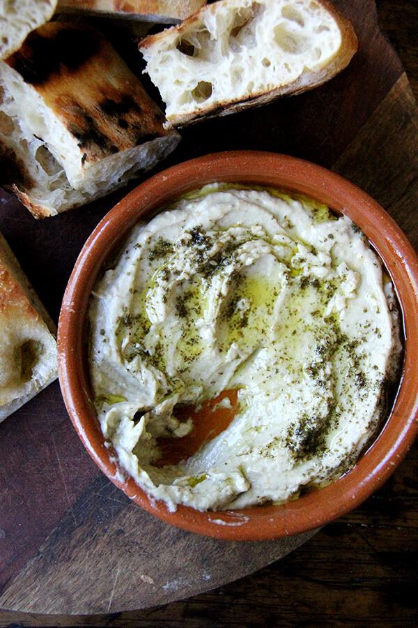 Smoky Eggplant Dip with Yogurt and Za'atar - Alexandra's ...