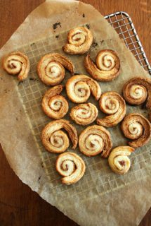 French Apple Tart & Cinnamon Snails