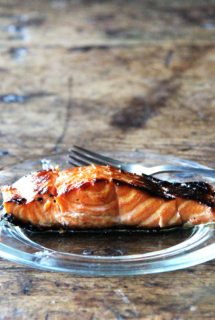 Broiled Ginger-Soy Salmon