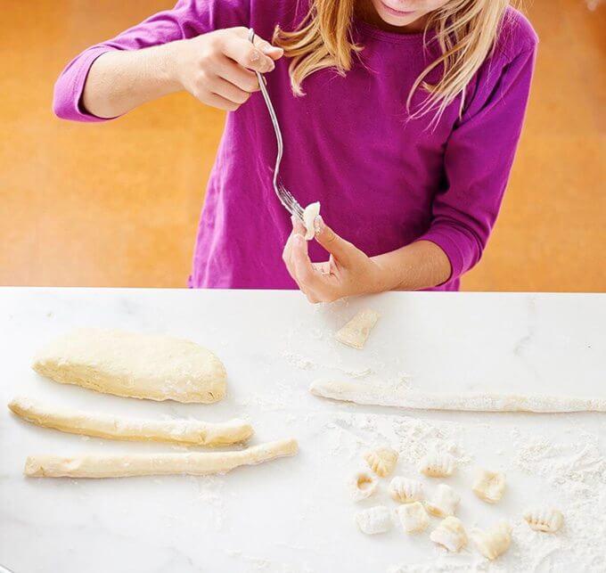 making-gnocchi