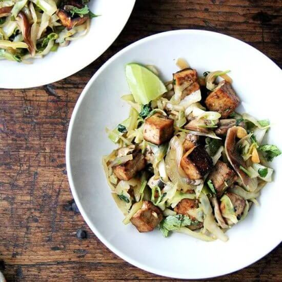 Cabbage Pad Thai-ish