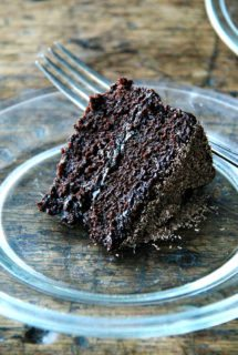 Gourmet's Double Chocolate Cake, Revisited