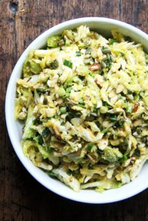 Cabbage Slaw with Miso-Carrot Dressing