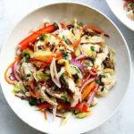 Thai Chicken and Cabbage Salad