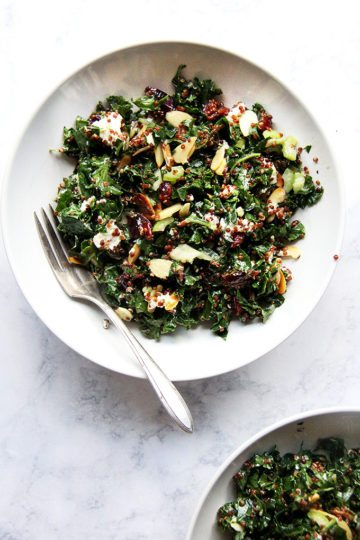 Kale and Quinoa Salad from Love Real Food