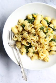 Melissa Clark's Creamy (No-Cream!) Corn Pasta with Basil