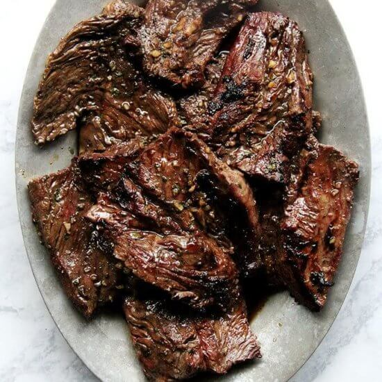 How to Cook Hanger Steak on the Grill