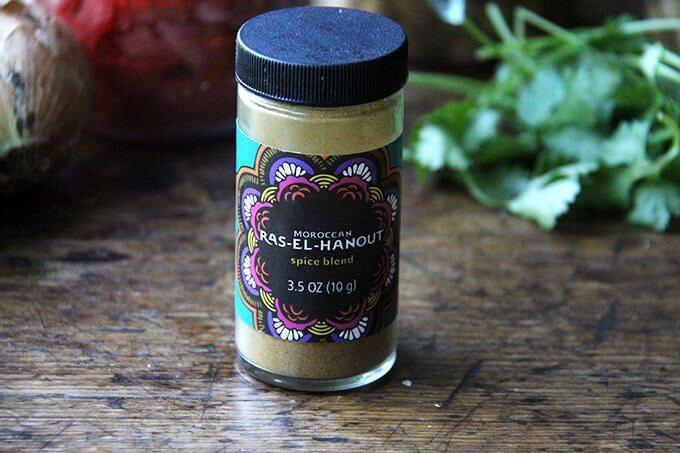 A jar of ras-el-hanout.