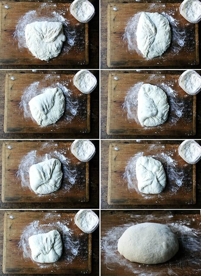 Making sourdough bread doesn't have to be complicated. Emilie Raffa's book has completely demystified the sourdough process for me. Once you make this recipe once or twice, the rhythm becomes second nature. // alexandracooks.com