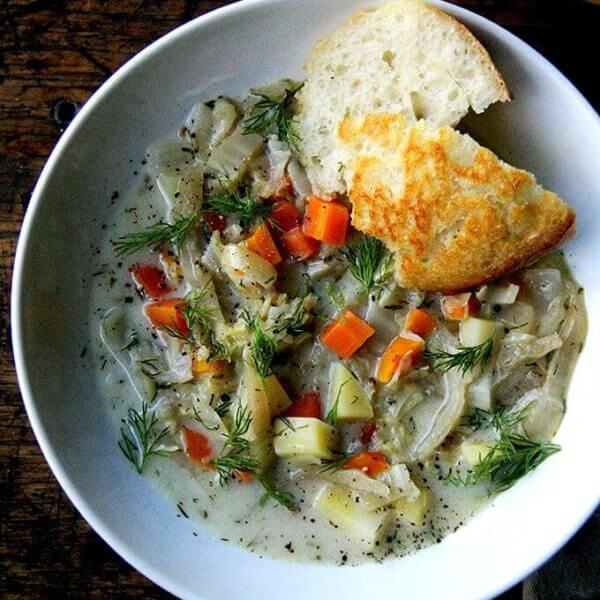 Favorite Cabbage Soup, Updated