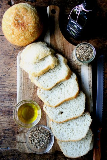 Homemade Dukkah + California Olive Ranch Olive Oil + Homemade Bread = A Perfect Gift