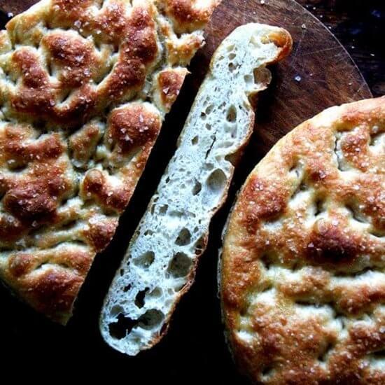 Overnight, Refrigerator Focaccia = The Best Focaccia Bread Recipe