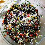 A bowl of Texas Caviar.