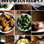 A montage of favorite Ina Garten recipes.