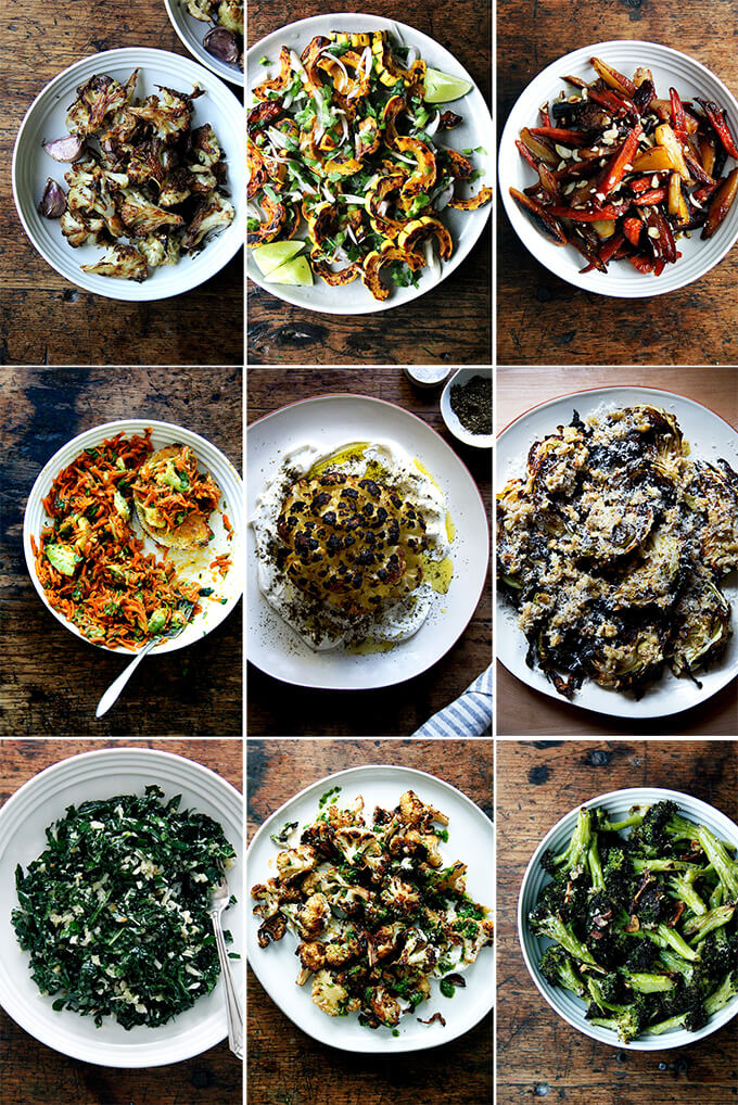 16 favorite vegetable side dishes