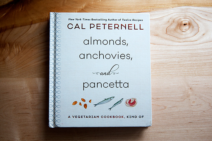 Cal Peternell's Almonds, Anchovies, and Pancetta