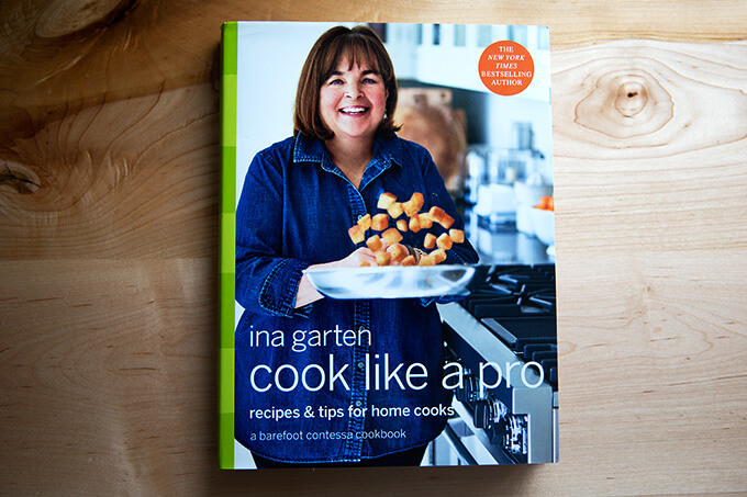 Ina Garten's Cook Like A Pro: A selection of Ina's favorite recipes.