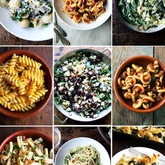 9 Favorite Pasta Recipes (Weeknight-ish)