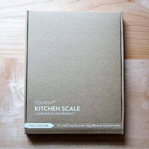 Nourish Kitchen Scale
