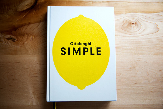 Yotam Ottolenghi's Simple: Simple, everyday recipes, heavily vegetarian but not exclusively.