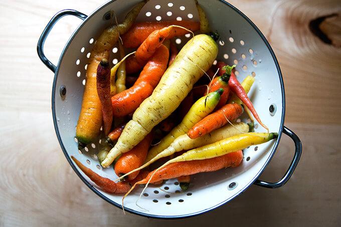 Carrots from Fresh Take Farm.