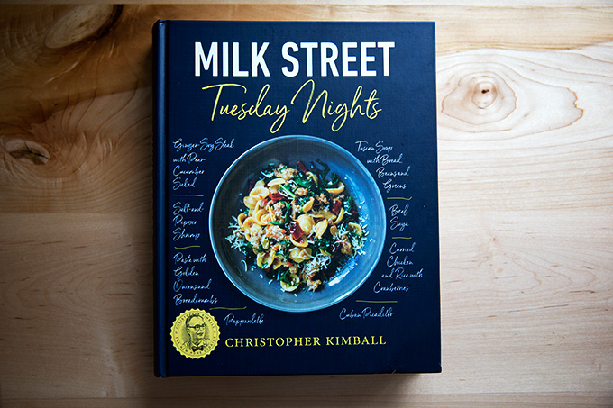 Milk Street's Tuesday Nights: A collection of weeknight friendly meals with global flavors.