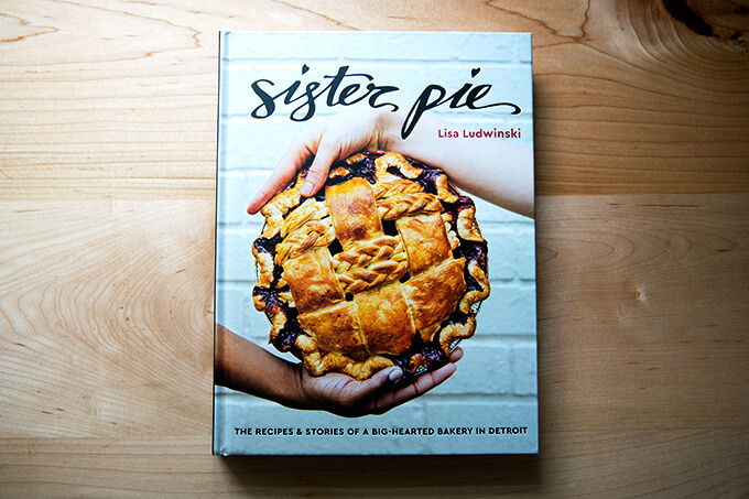 The cover of a cookbook: Sister Pie