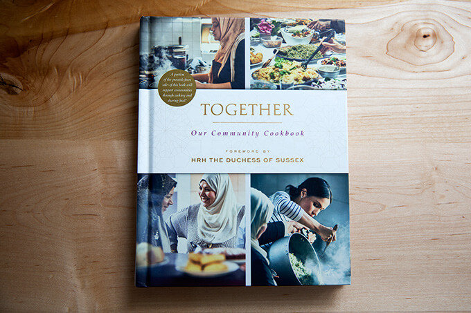 Together, the cookbook, a collection of recipes from a community of women affected by the Grenfall Tower tragedy.
