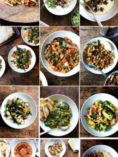 A collection of easy vegetarian recipes to make year-round.