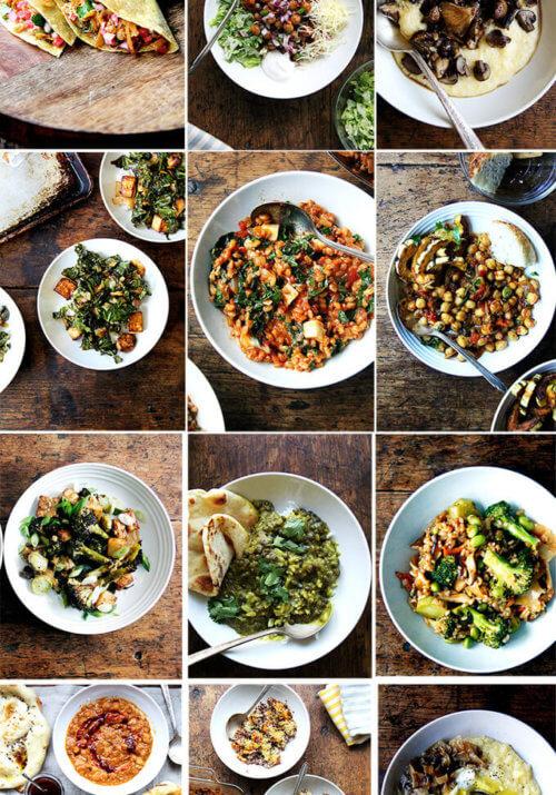 12 favorite vegetarian dinners