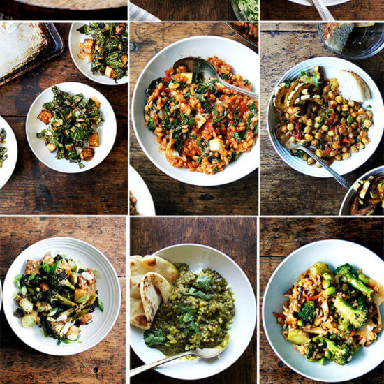 12 Favorite Vegetarian Dinners (Weeknight-ish)