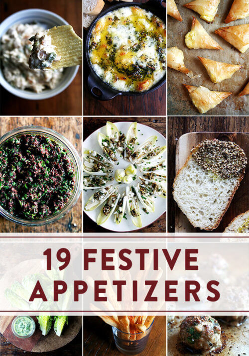 19 Festive Appetizers to Ring in the New Year