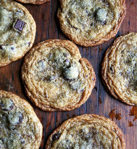 Canal House Thin and Crisp Chocolate Chip Cookies