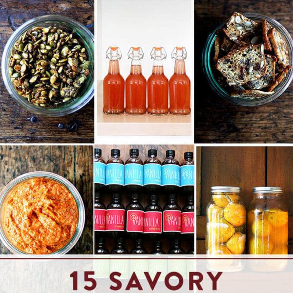 15 Savory Homemade Treats to Gift All Season