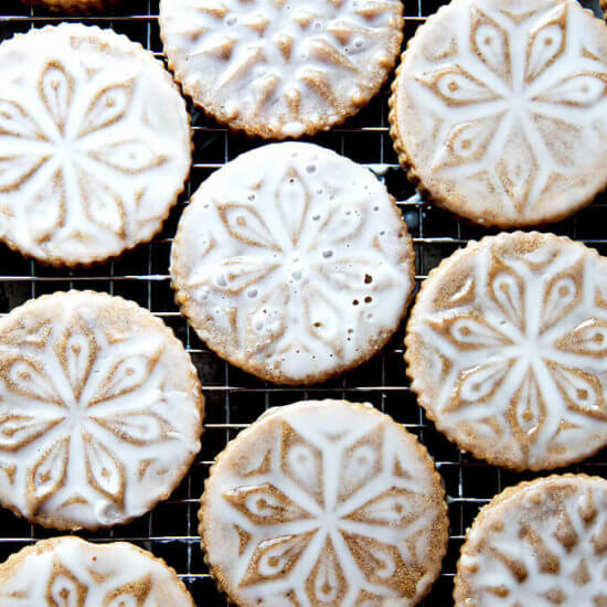 Stamped Christmas Cookies: Brown Butter Muscovado