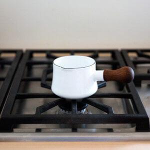 Dansk koben style butter warmer