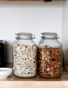 Homemade muesli and granola — these two breakfast cereals are staples in our house.