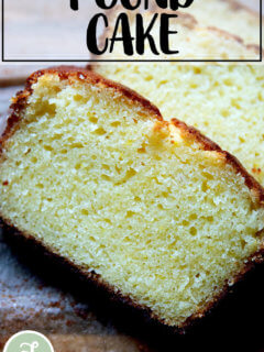 One-bowl orange-ricotta pound cake.