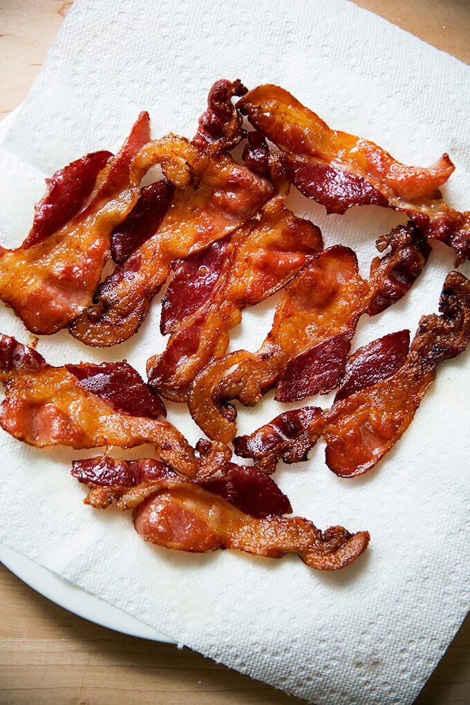 how to cook bacon on a sheet pan