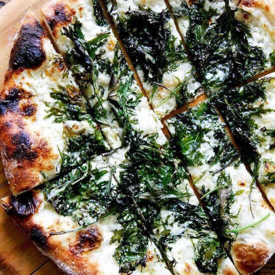 Kale & Crème Fraîche Pizza + How to Make Great Neapolitan-Style Pizza At Home