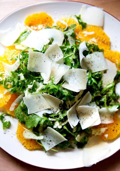 Orange, Arugula & Fennel Salad