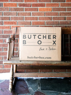 Butcher Box box, delivered